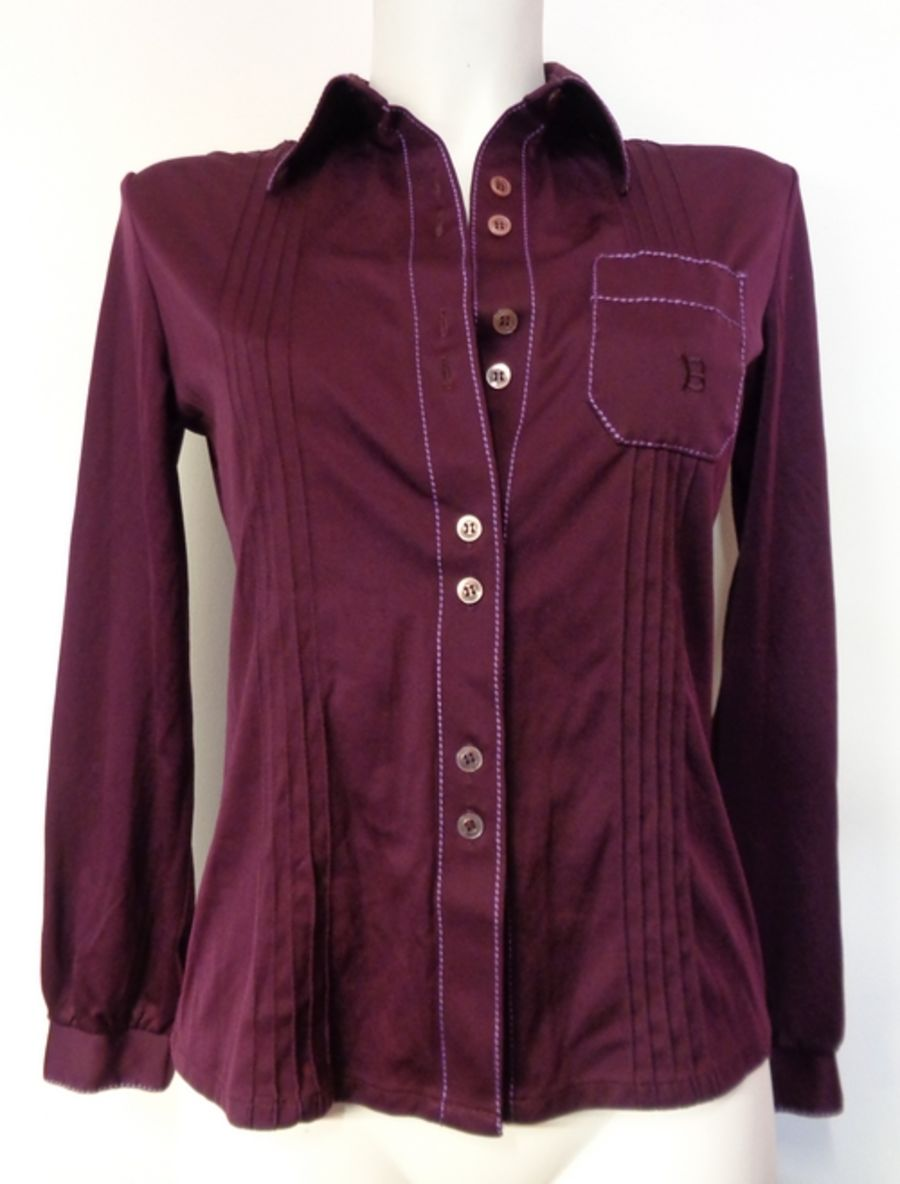 Deep Purple 1970s  Vintage Women's blouse