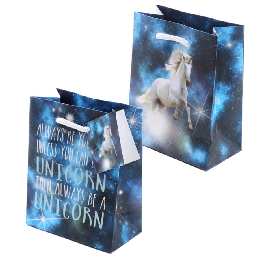 Cosmic Unicorn Motif Gift Bag Small