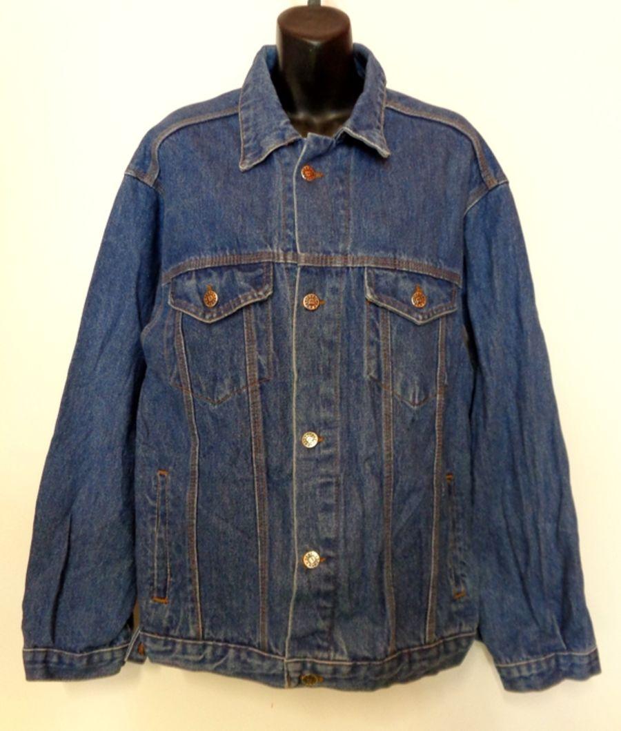 Vintage Dark Blue Demko Denim Jacket