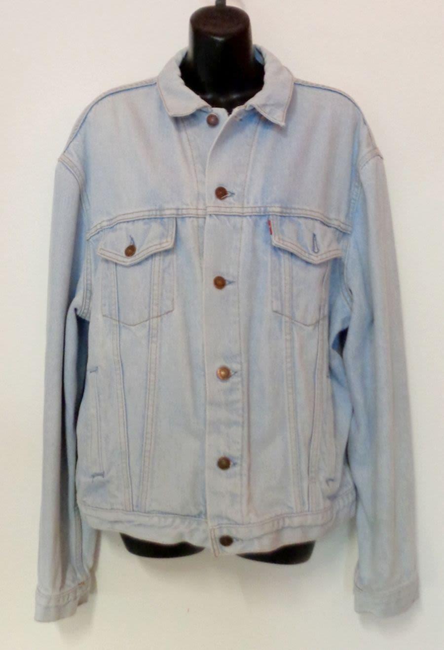 Vintage 1990's Original Levi Acid Wash Denim Jacket