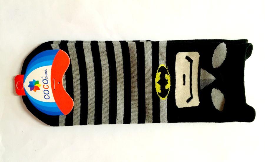 Batman Feature Toe Print Pop Socks