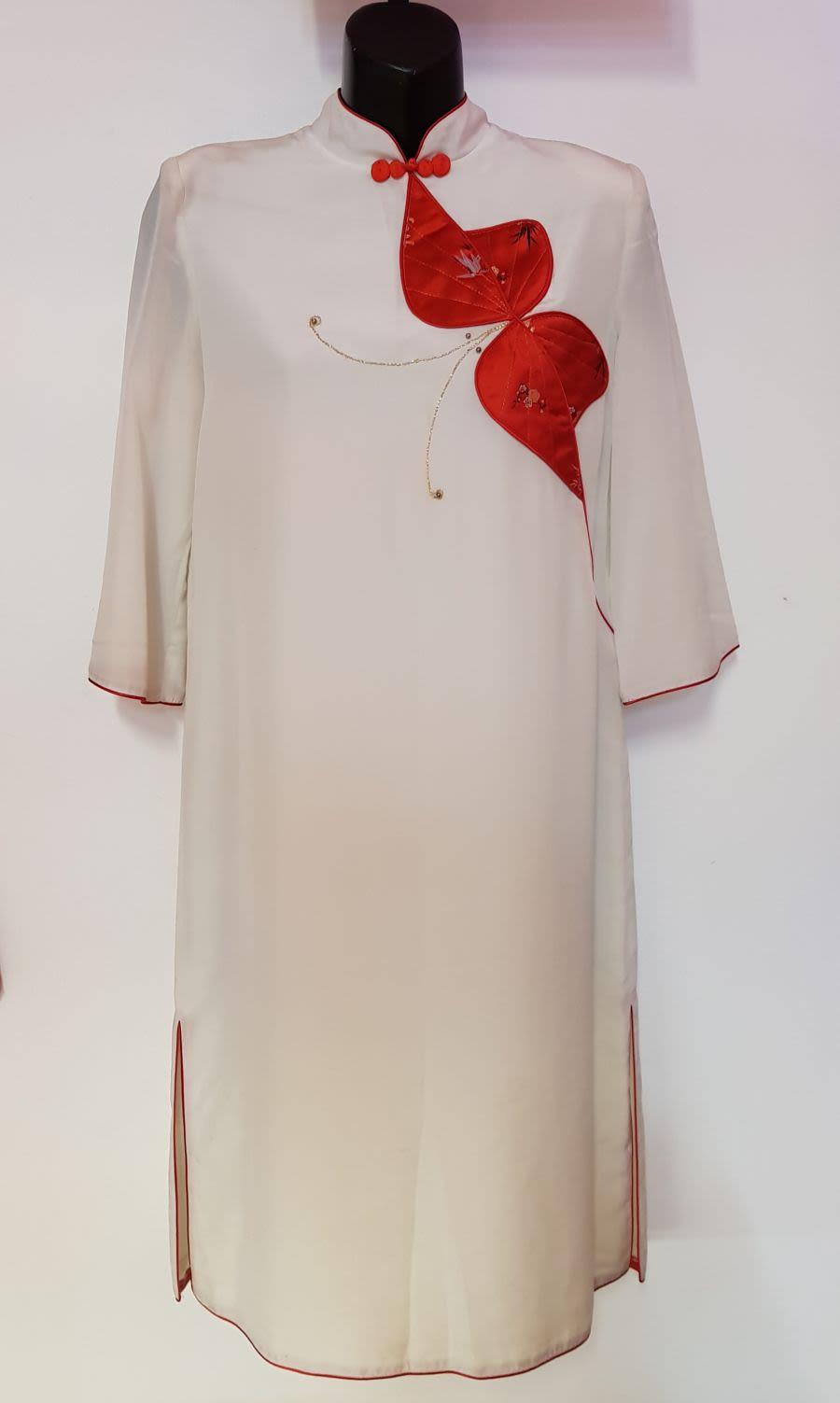 Vintage 1950's Oriental Dress