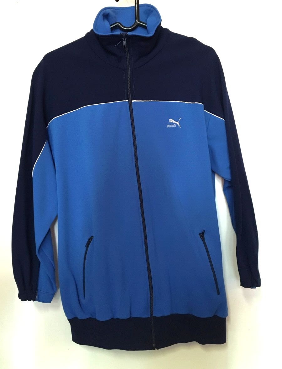 Vintage 1990's Blue Puma Sports Jacket