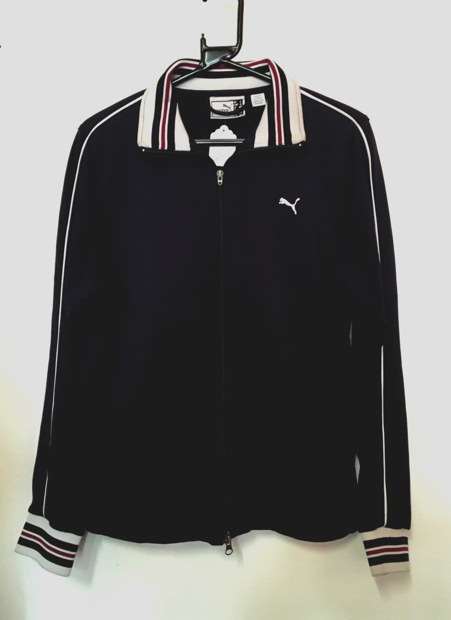 Vintage 1990's Navy Blue Sports Puma Jacket