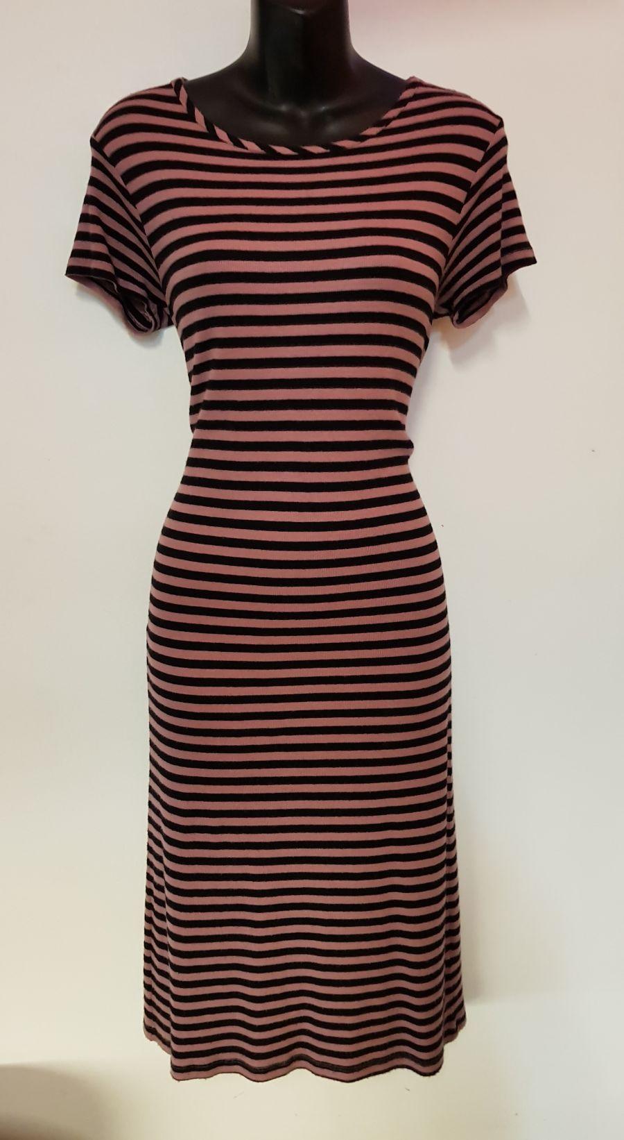 Vintage 1990's Black & Pink Grunge Dress