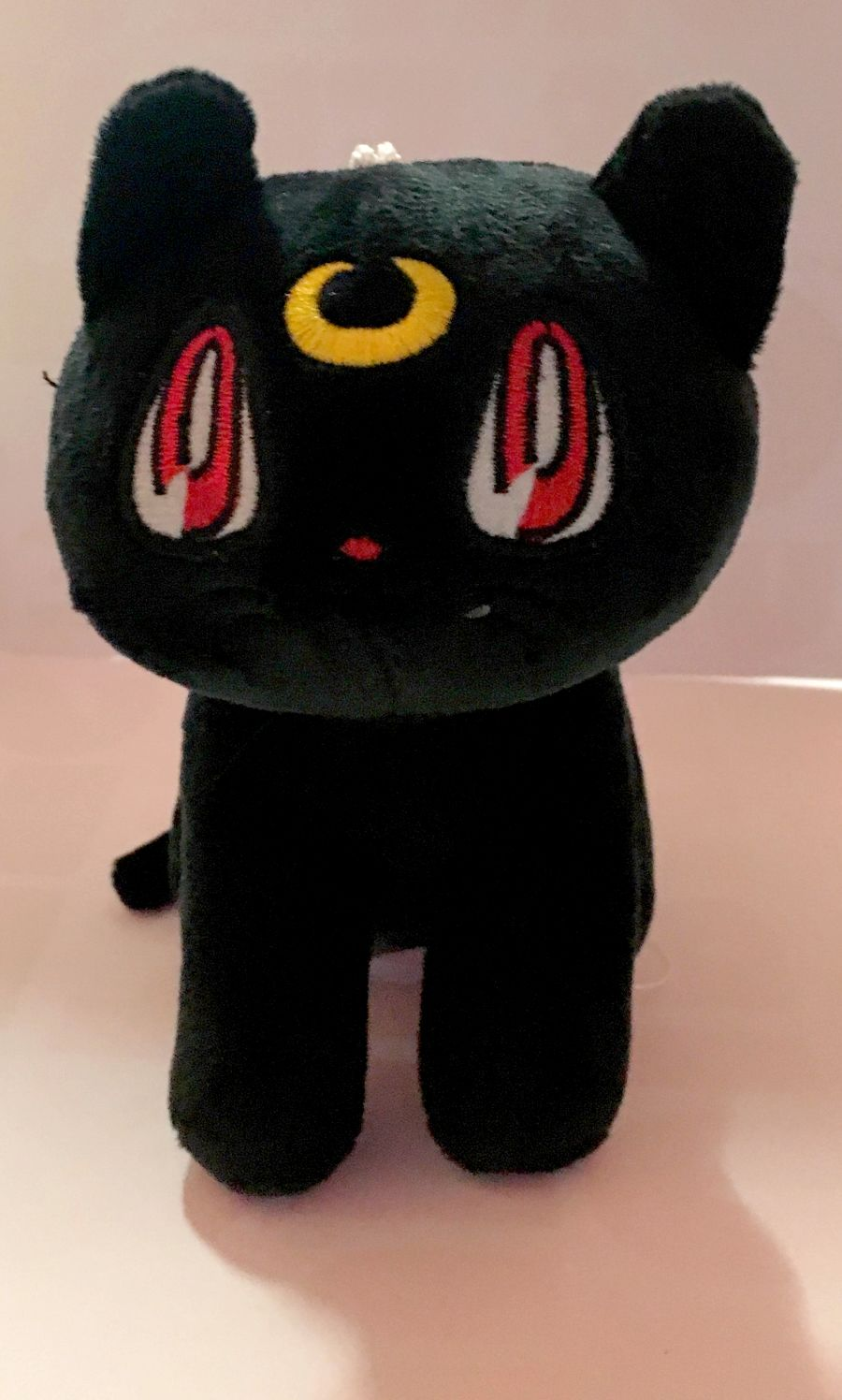 Black Salior Moon Cat Plushie