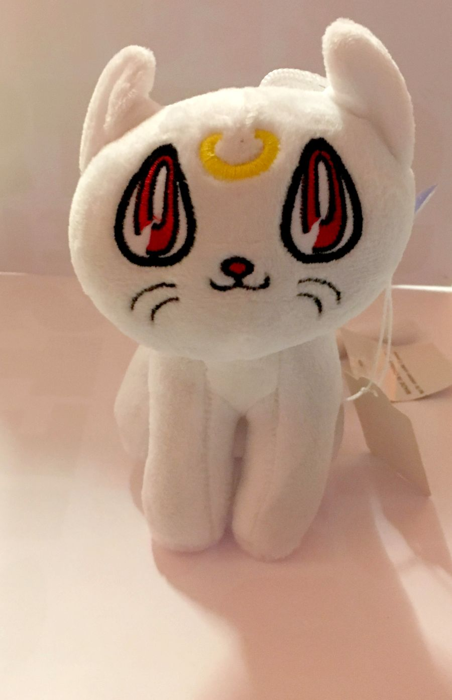 White Salior Moon Cat Plushie