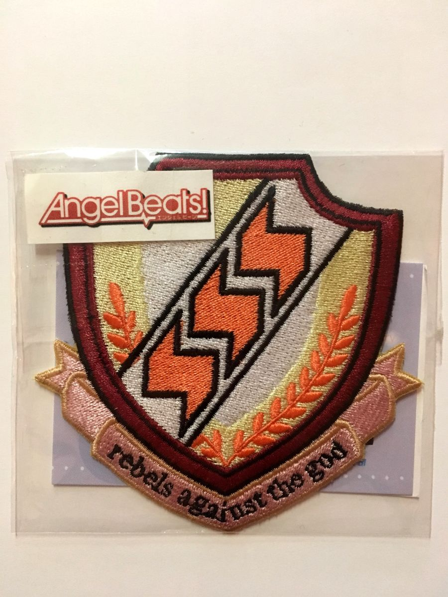 Angel Beats Iron On Patch