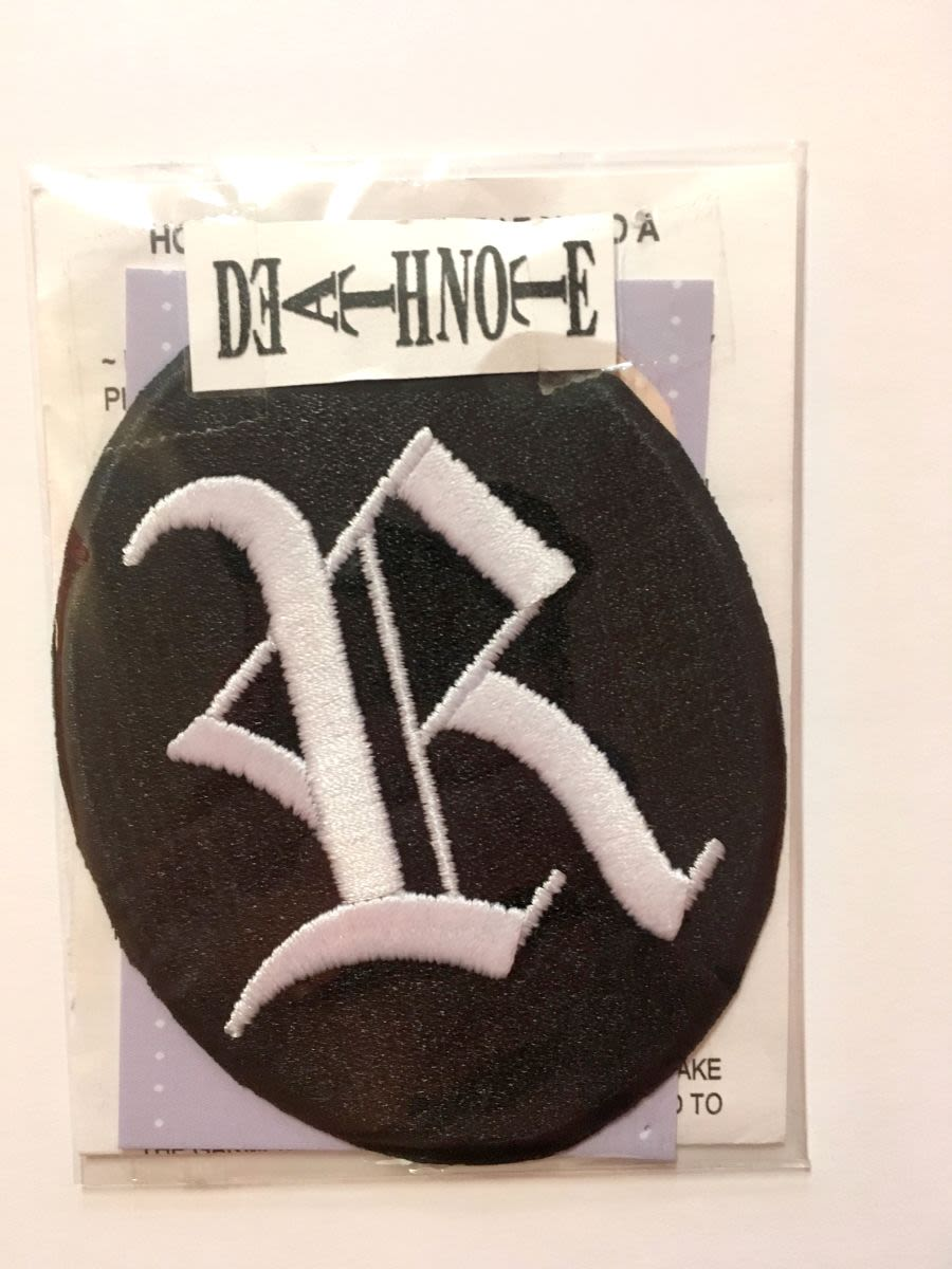 Ryuk Deathnote Iron on Patch