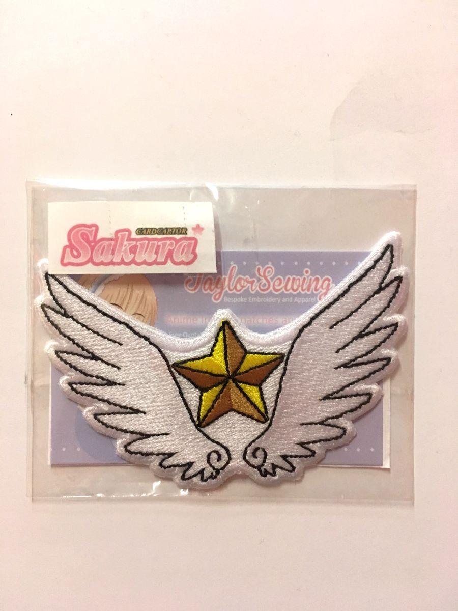 Sakura Star Wand Iron On Patch