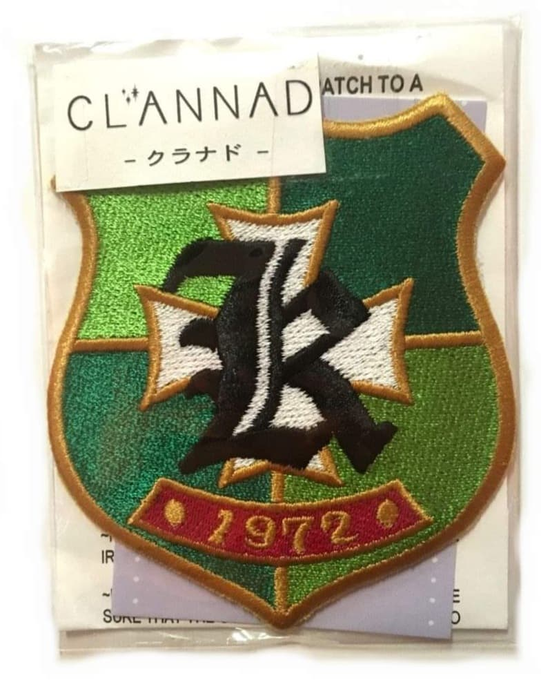Clannad R Iron On Patch
