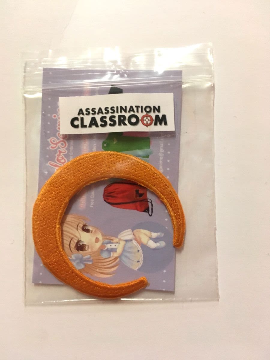 Assassination Classroom Moon Iron On Patch