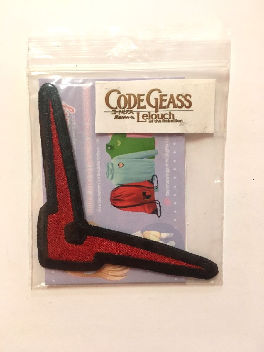 Code Geass LeLouch Iron On Patch