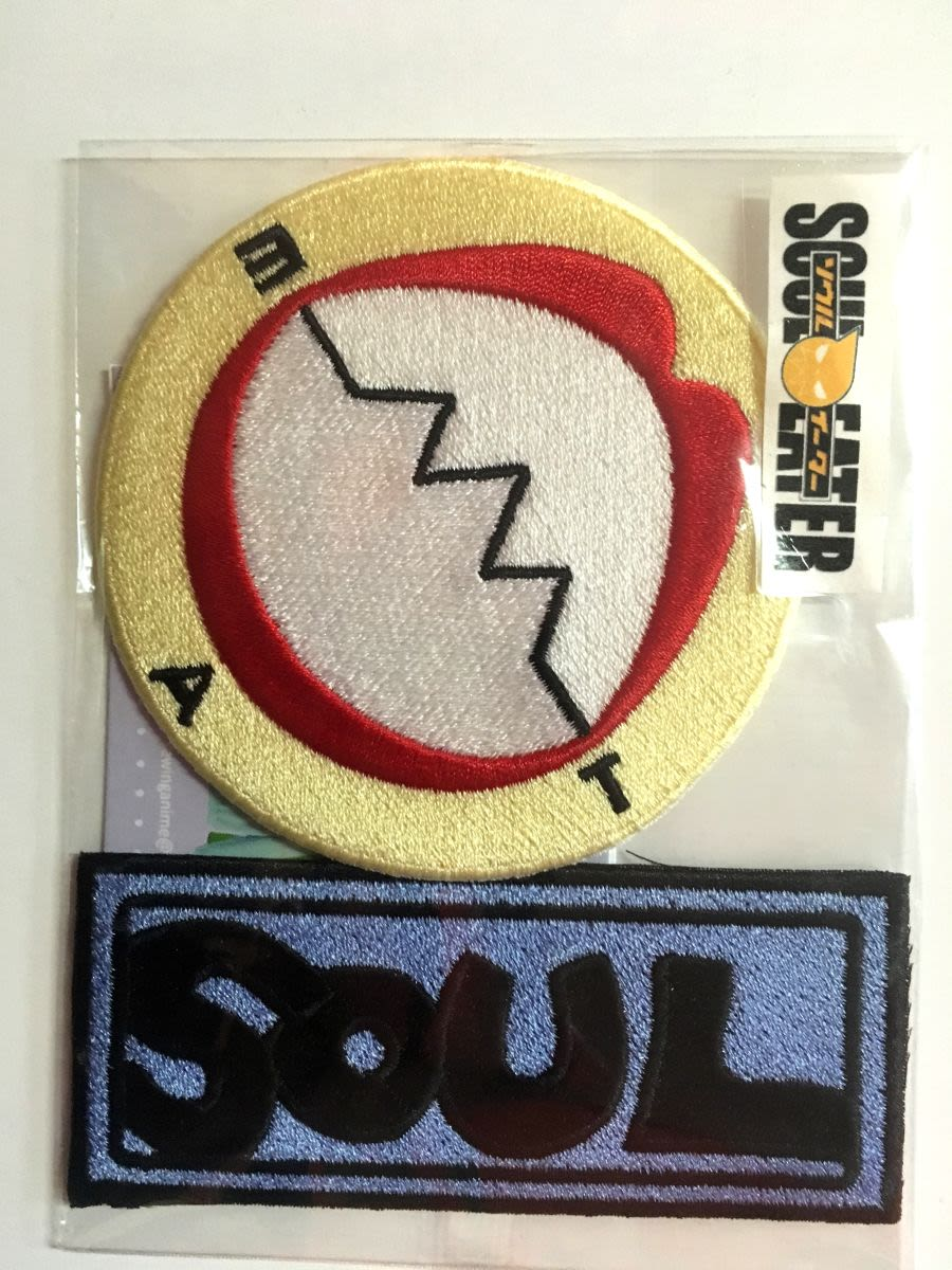 Soul Eater Iron On Patch