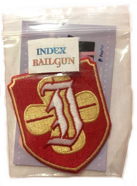 Index Railgun Iron on Patch