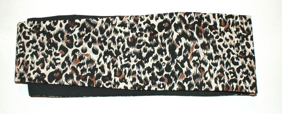 Reversible Leopard Print Bandanna