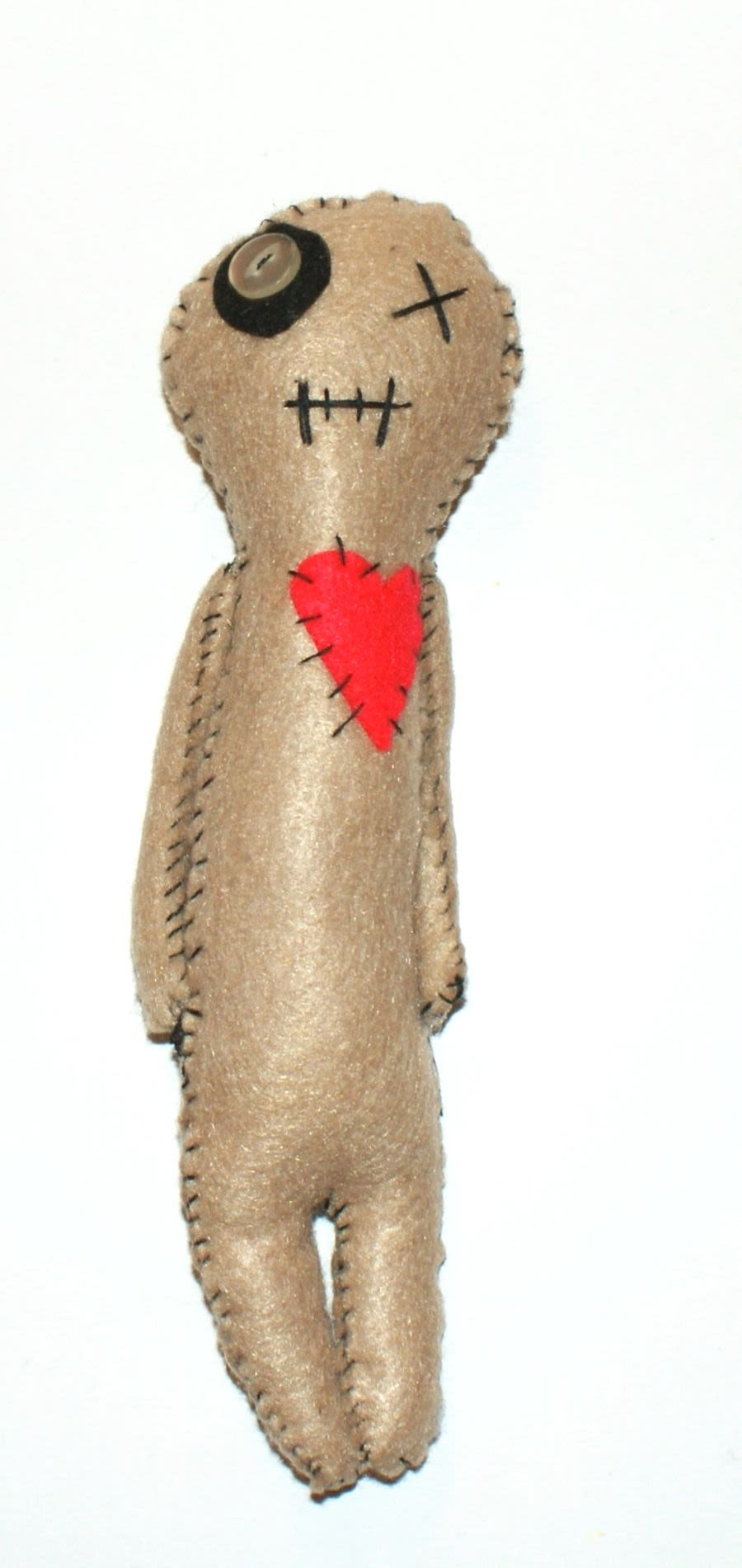 Unique hand made skinny Voodoo Doll