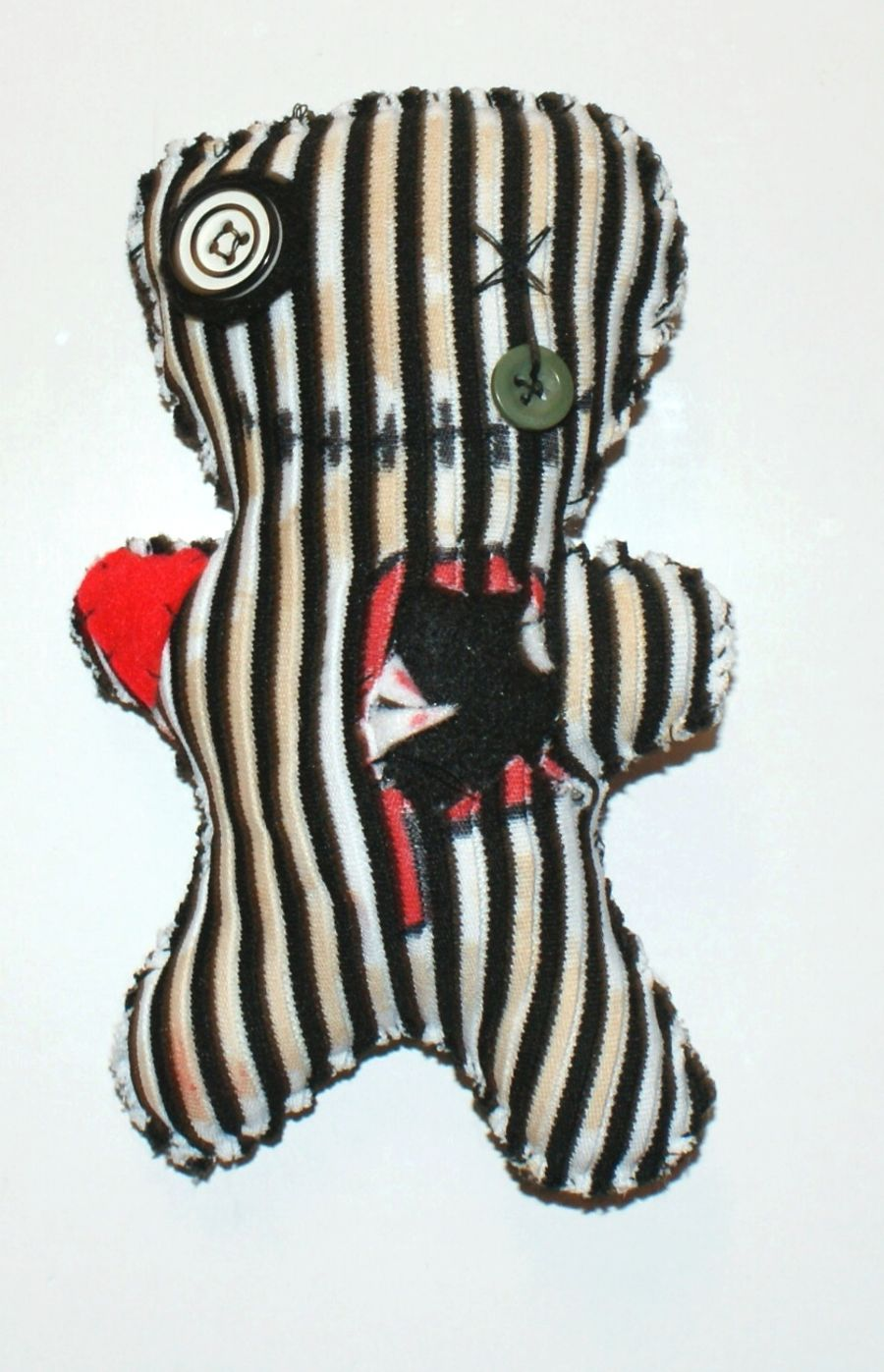Stripy Voodoo Doll