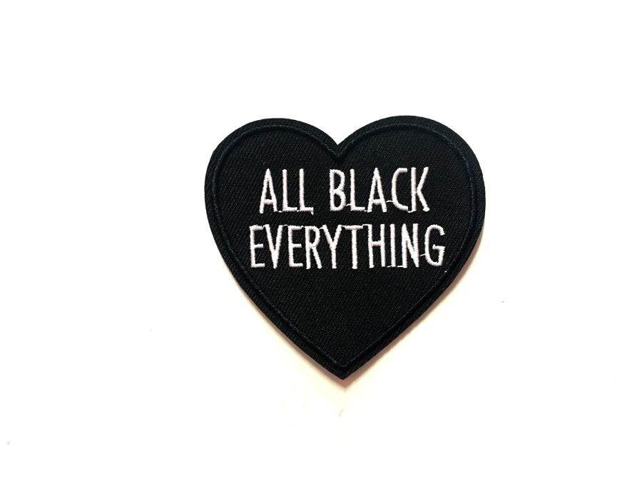Black Heart 'All Black Everything' Patch