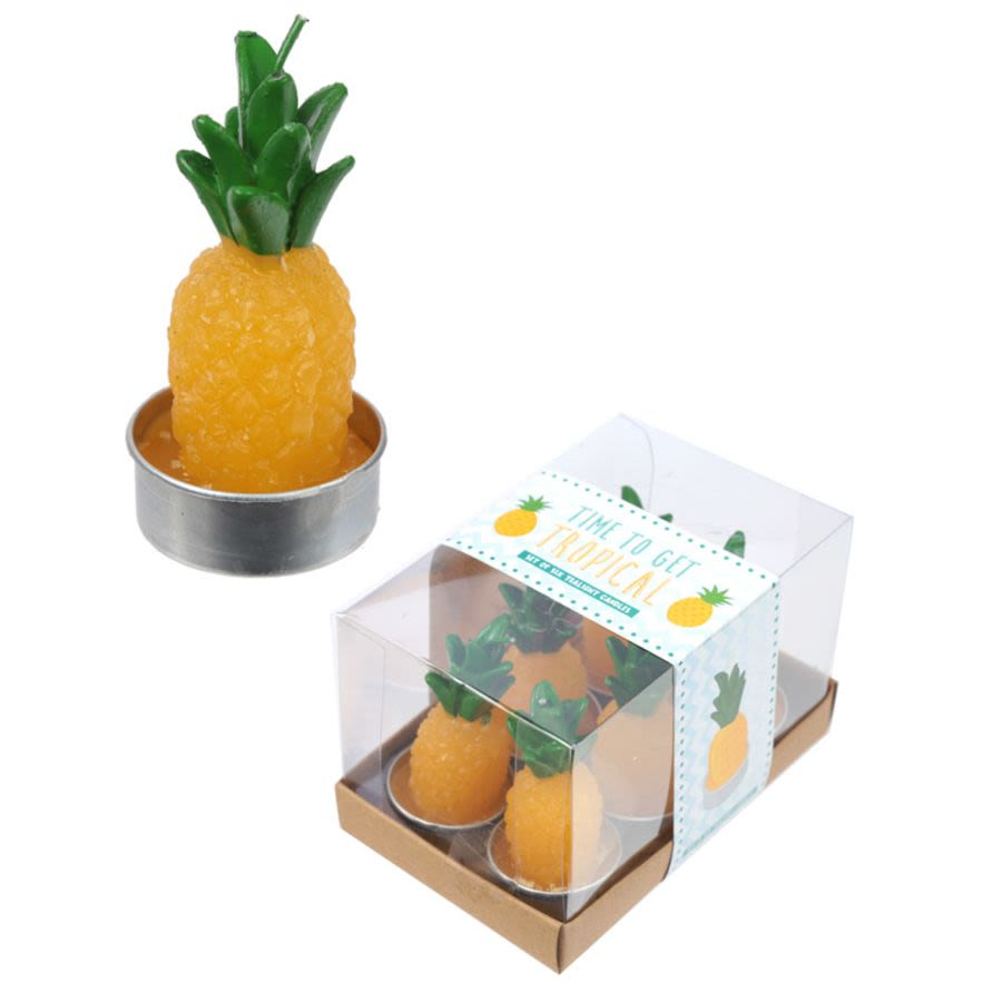Tropical Pineapple Candles