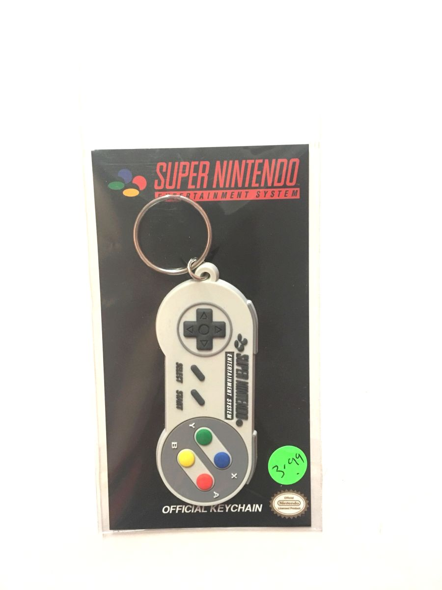 Super Nintendo Controller Keyring