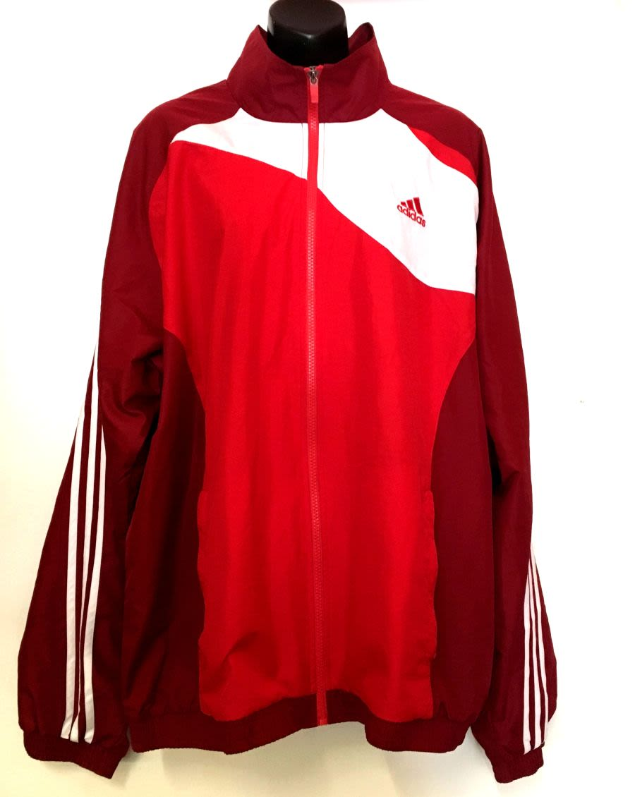 Vintage 90's Adidas Sports Jacket (Red)