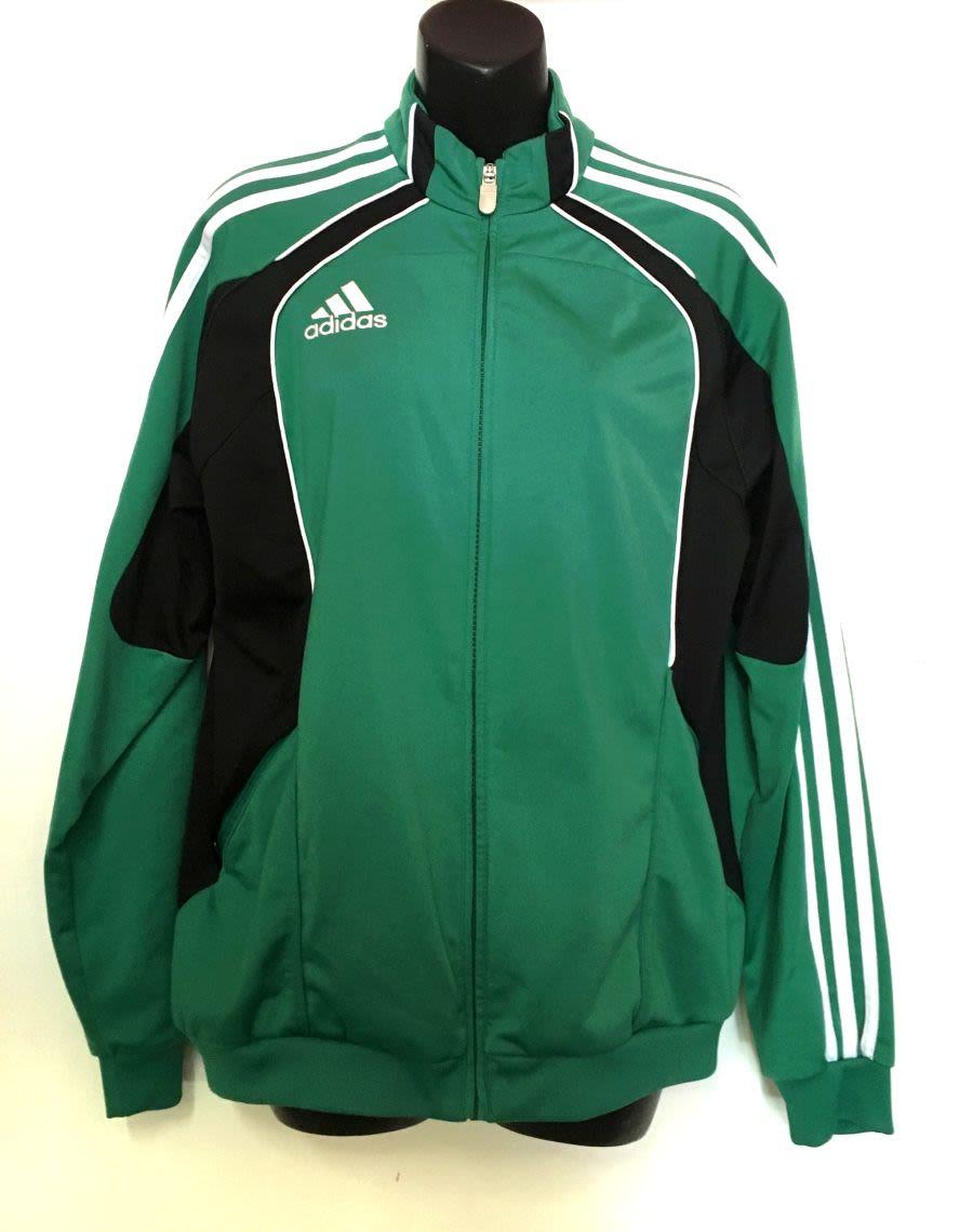 Vintage 90's Adidas Sports Jacket (Green)