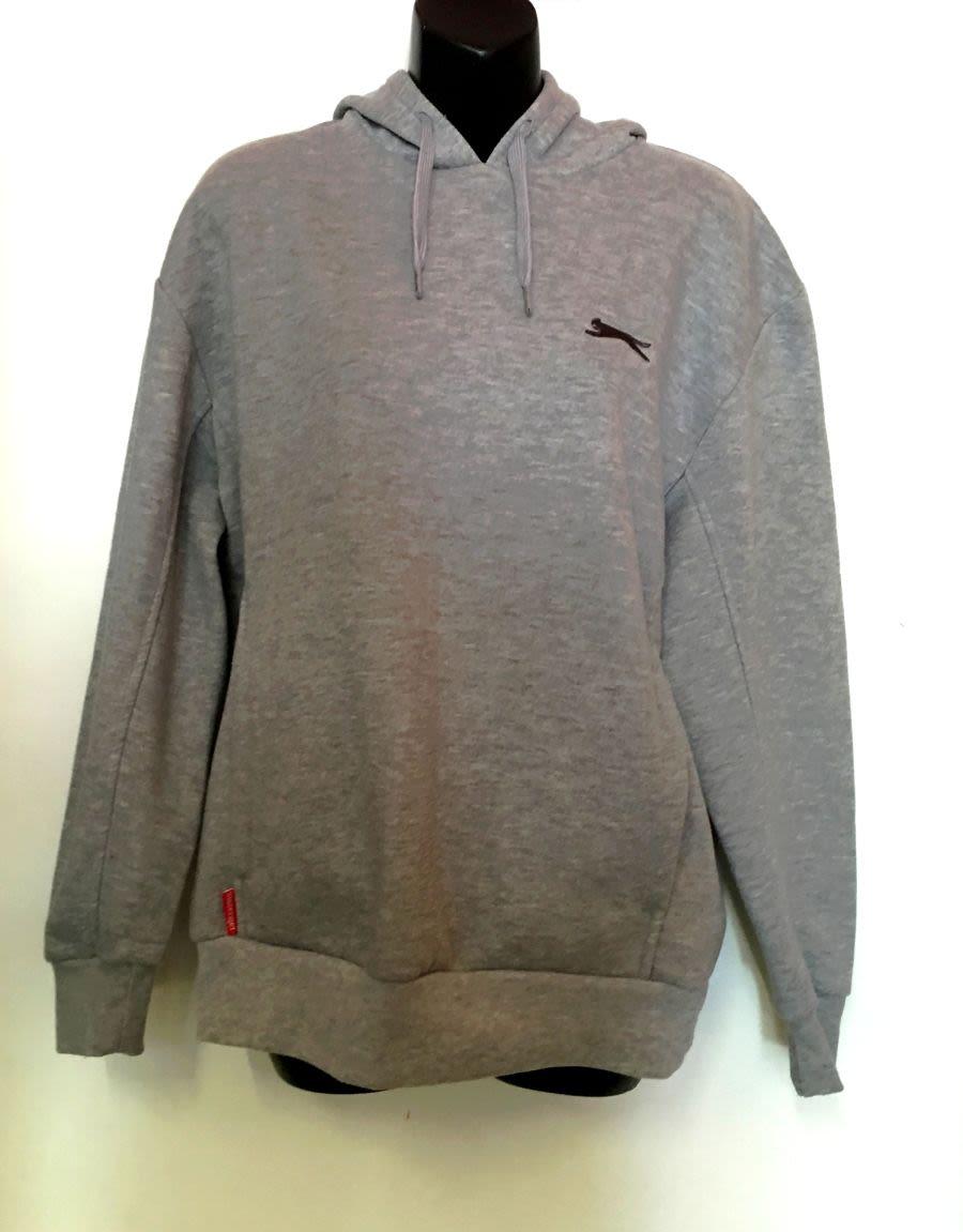 Vintage 1990's Grey Slazenger Sports Hoodie