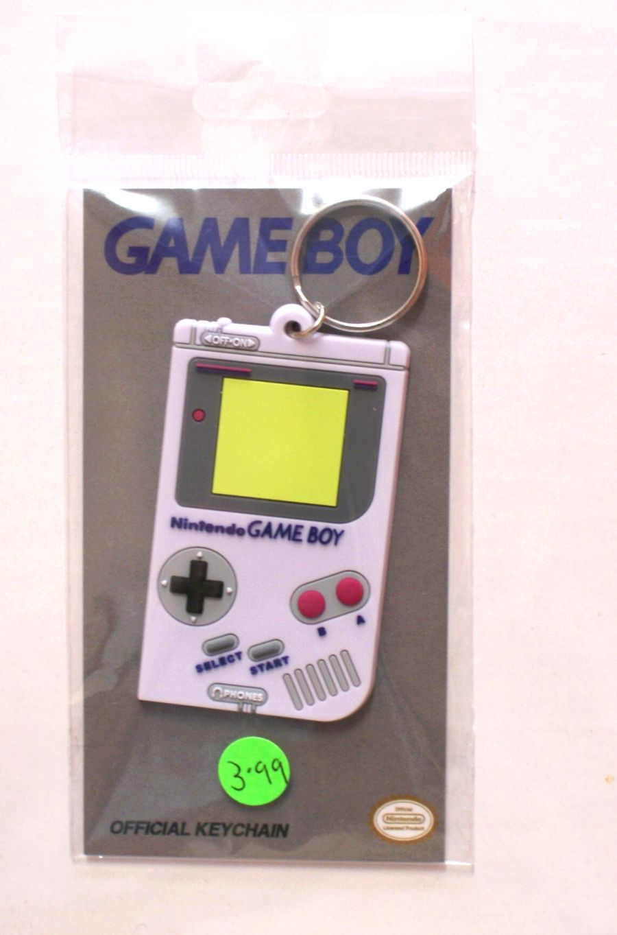 GameBoy Keyring