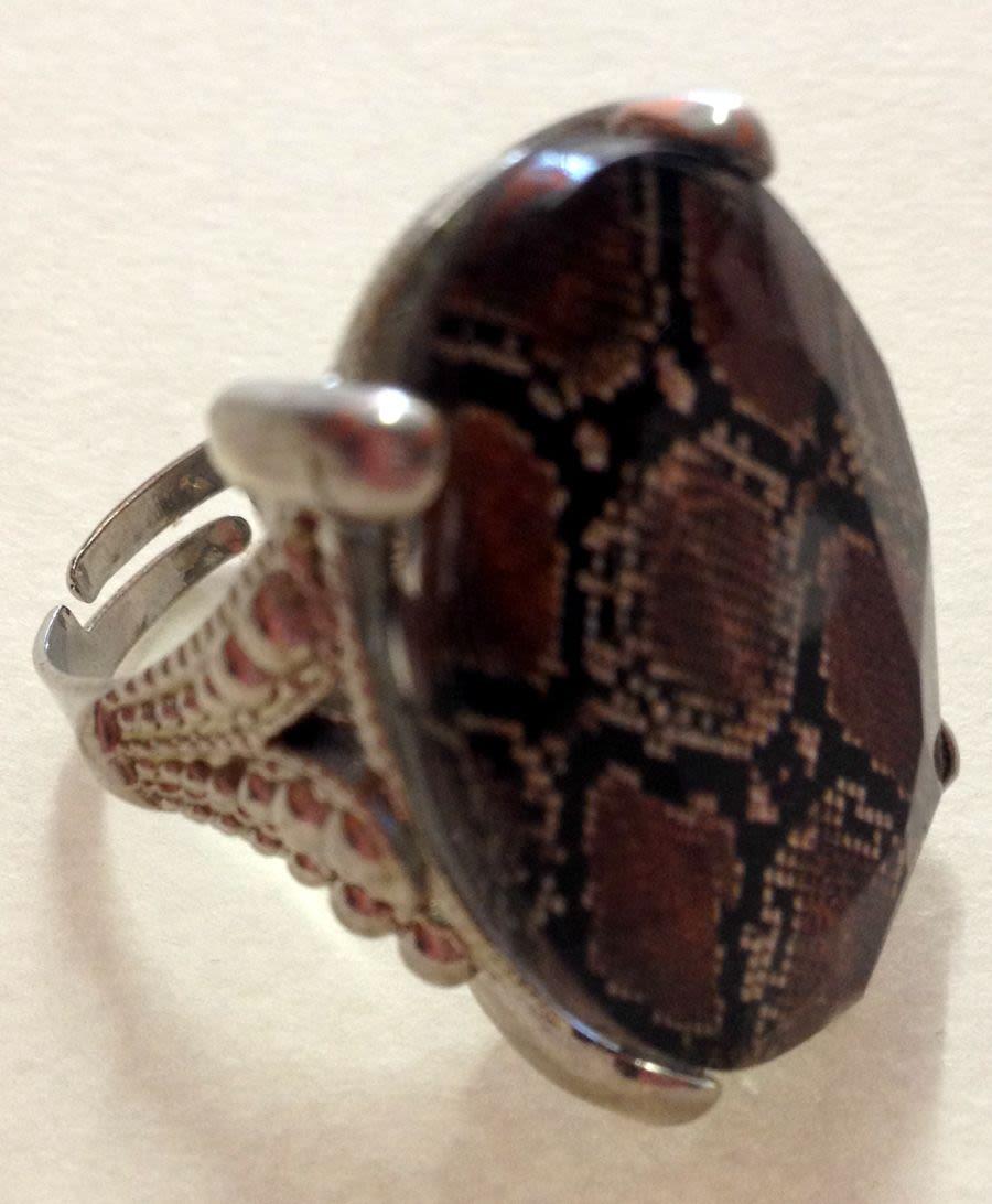 Snake Skin Ring