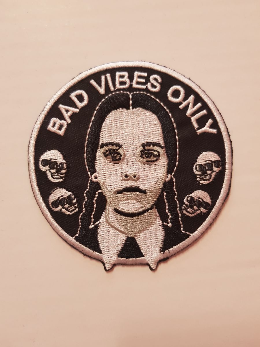 Wednesday Addams Patch
