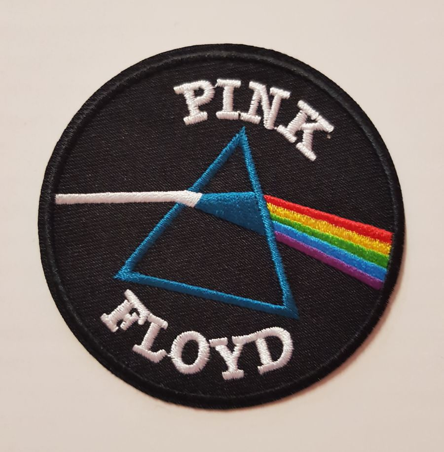 Pink Floyd The Prism Dark Side of the Moon Logo Sew on Iron on Patch
