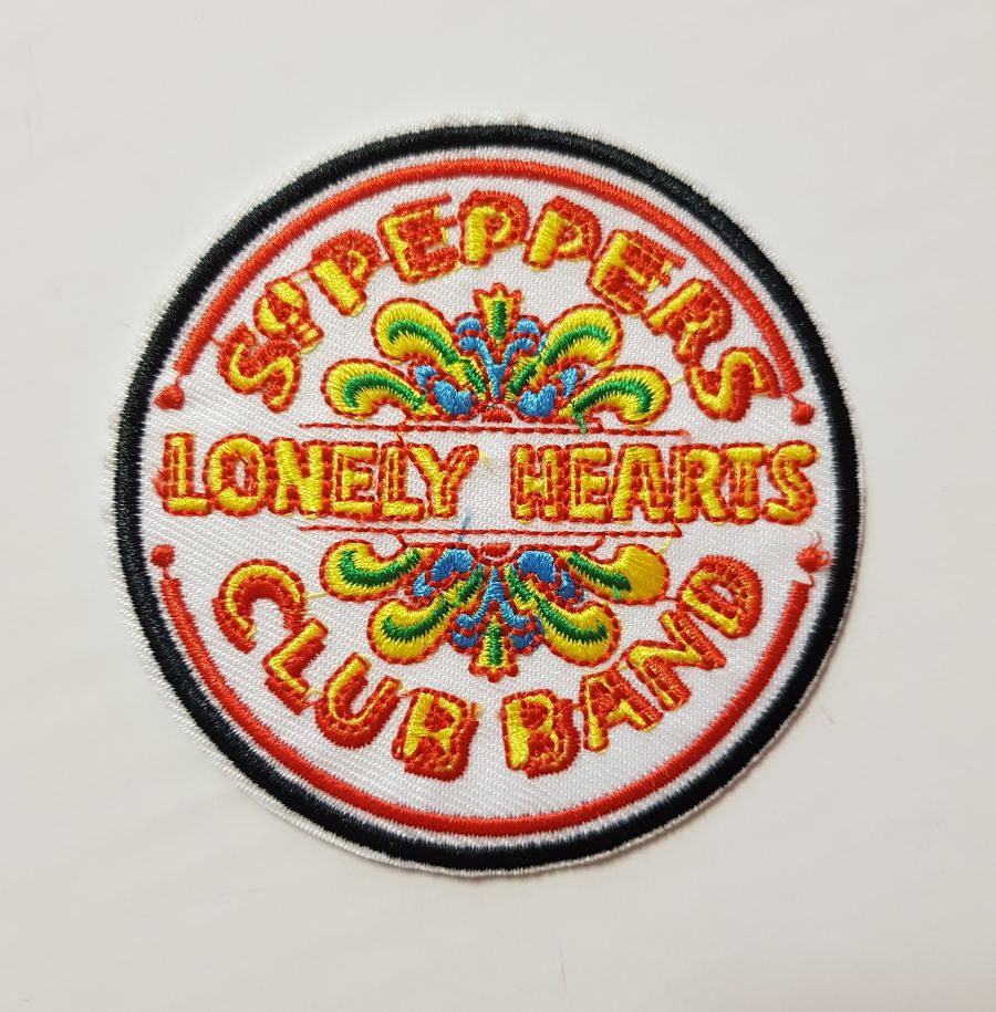 Sgt. Peppers Lonely Hearts Club Band Sew on Iron on Patch