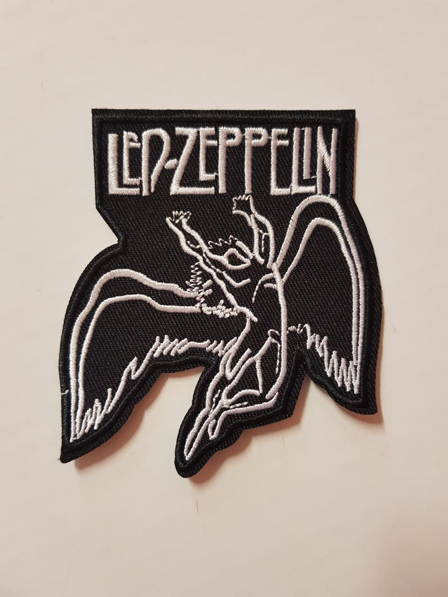 Led Zeppelin Logo Sew on Iron on Patch