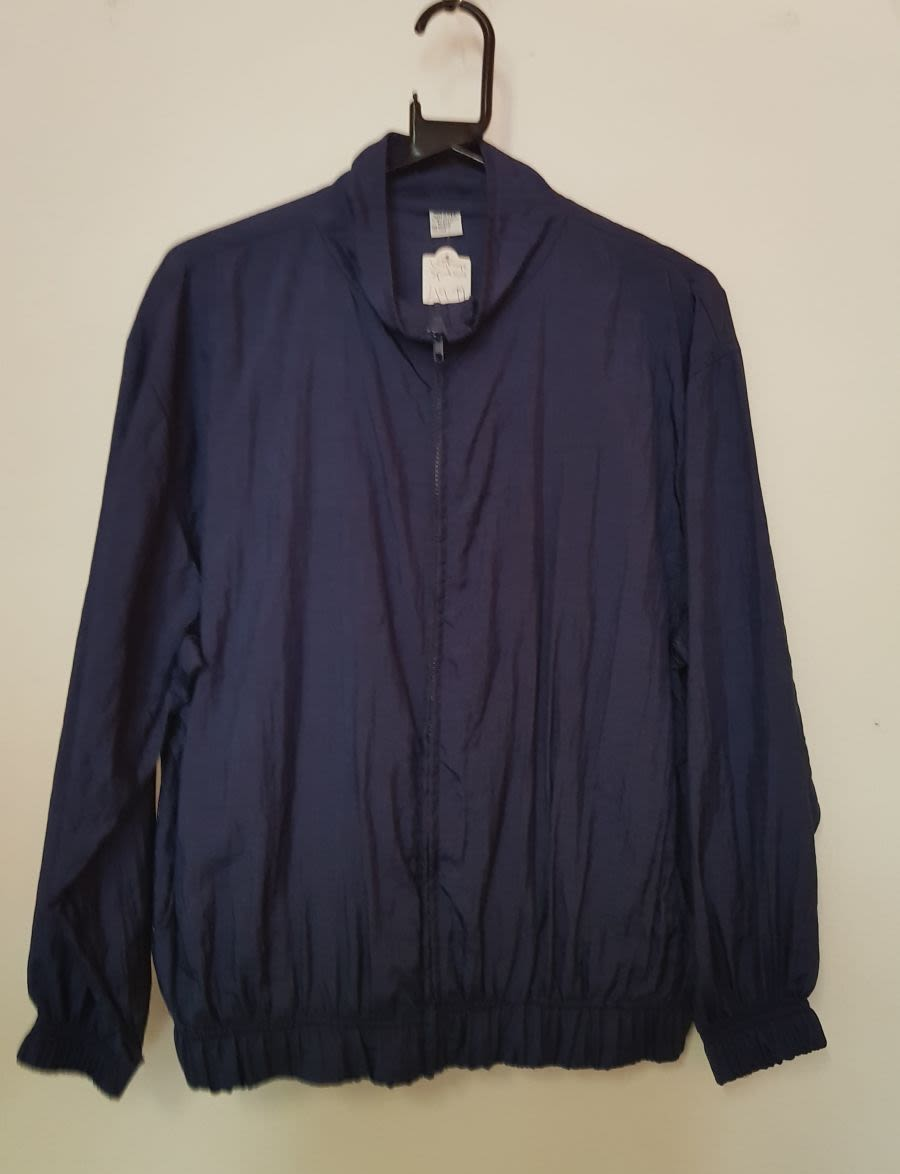 Vintage Mens Blue Lux Sports Jacket