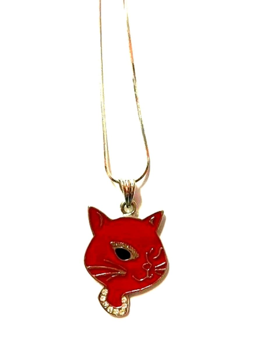 Red Cat neckalce
