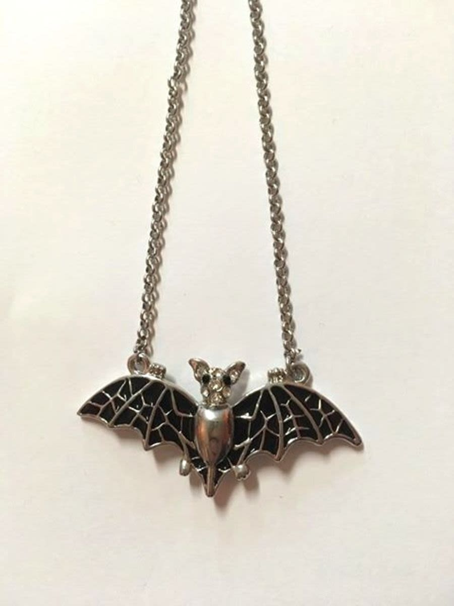 Bat Necklace Small