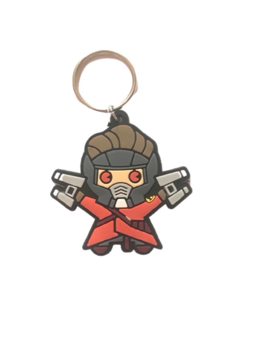 Star-Lord, Peter Quill Keyring