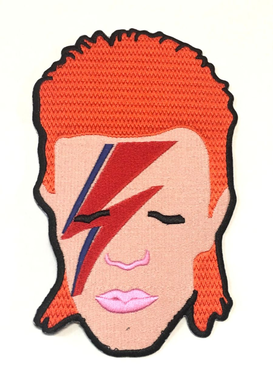 David Bowie Extra Large Patch