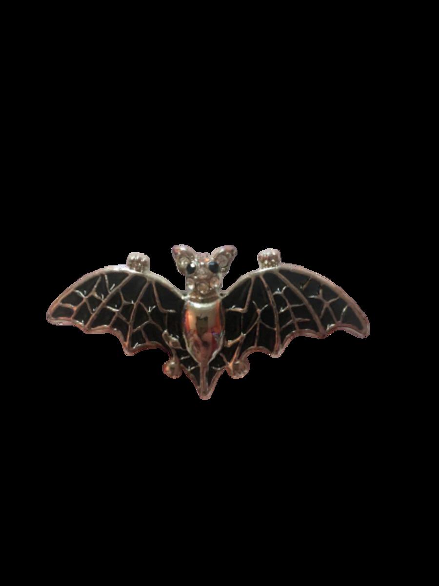 Vintage Y2K Bat Brooch