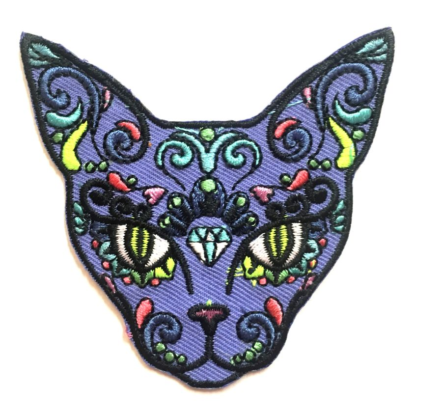 Psychedelia Cat Patch