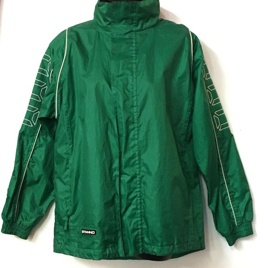 Vintage 90's Sports Luxe Green Tracksuit Jacket