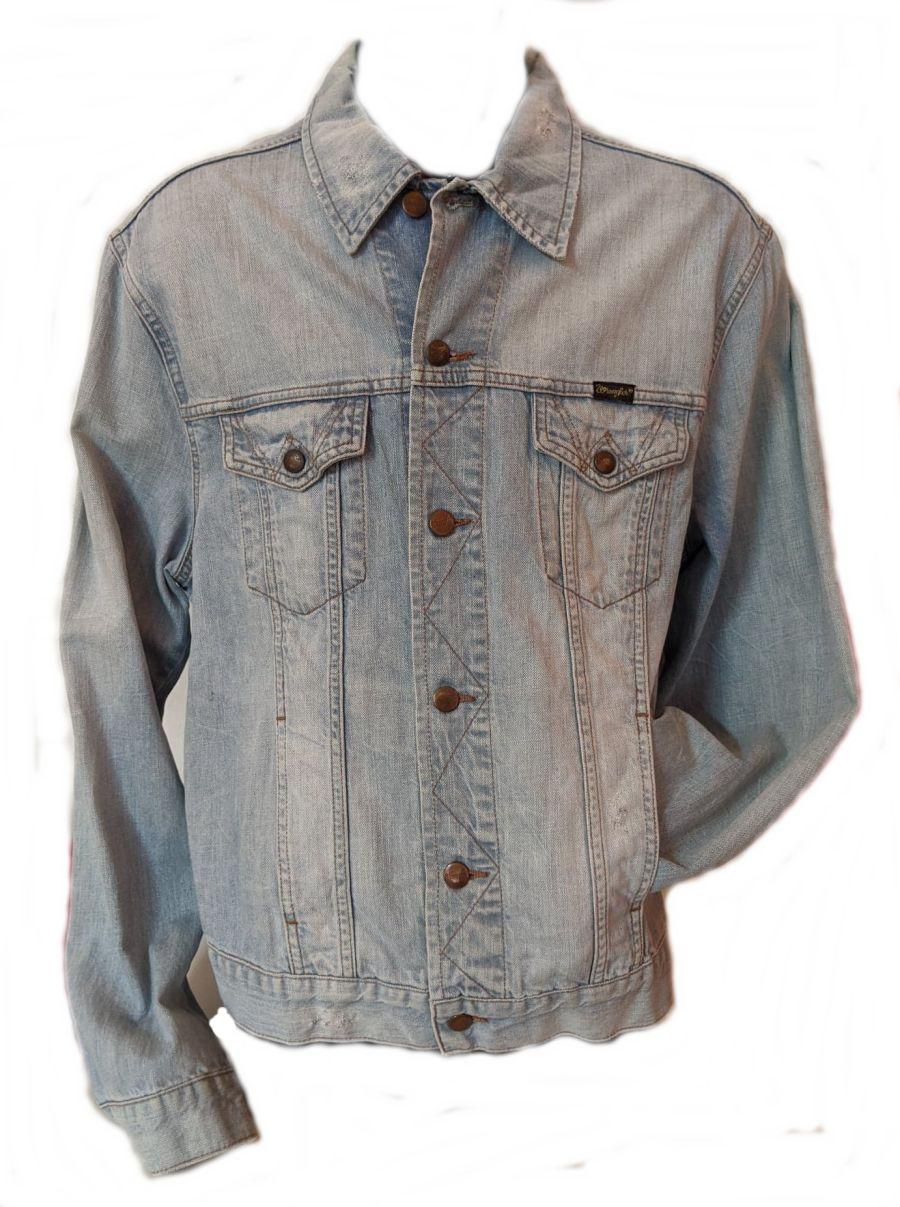 Vintage 1990's Acid Wash Wrangler Denim Jacket