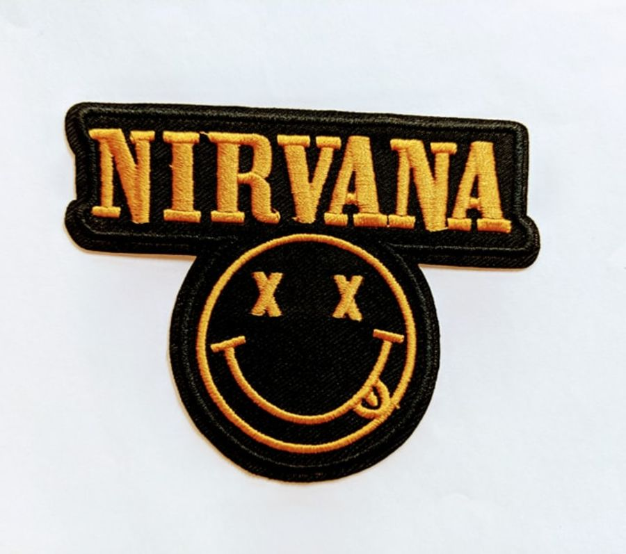 Nirvana Logo Yellow Patch