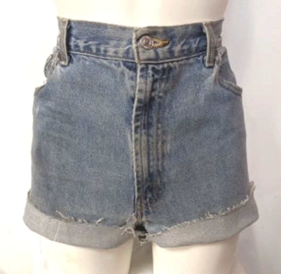 Acid Wash Original Levi Comfort Fit 506 Shorts