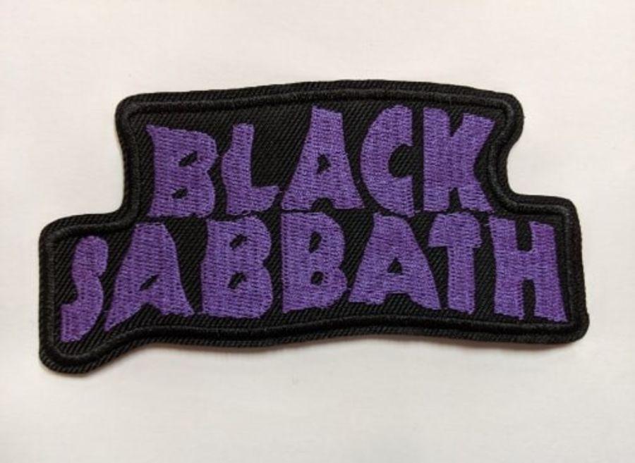Black Sabbath Iron On Patch