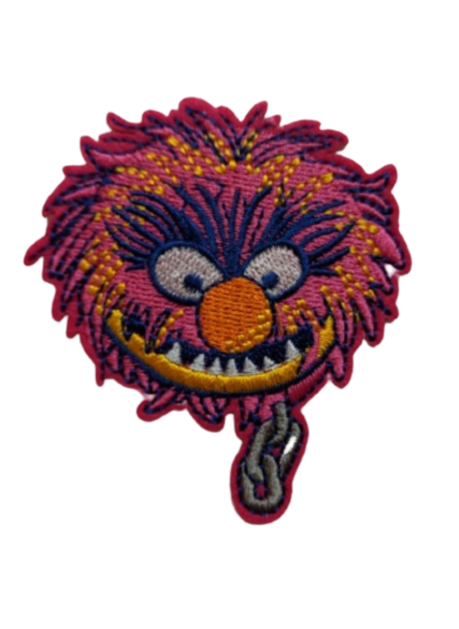 Animal from The Muppets Iron on Patch
