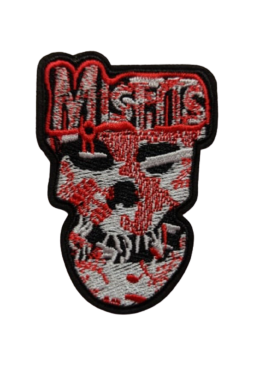The Misfits Logo Iron On Patch