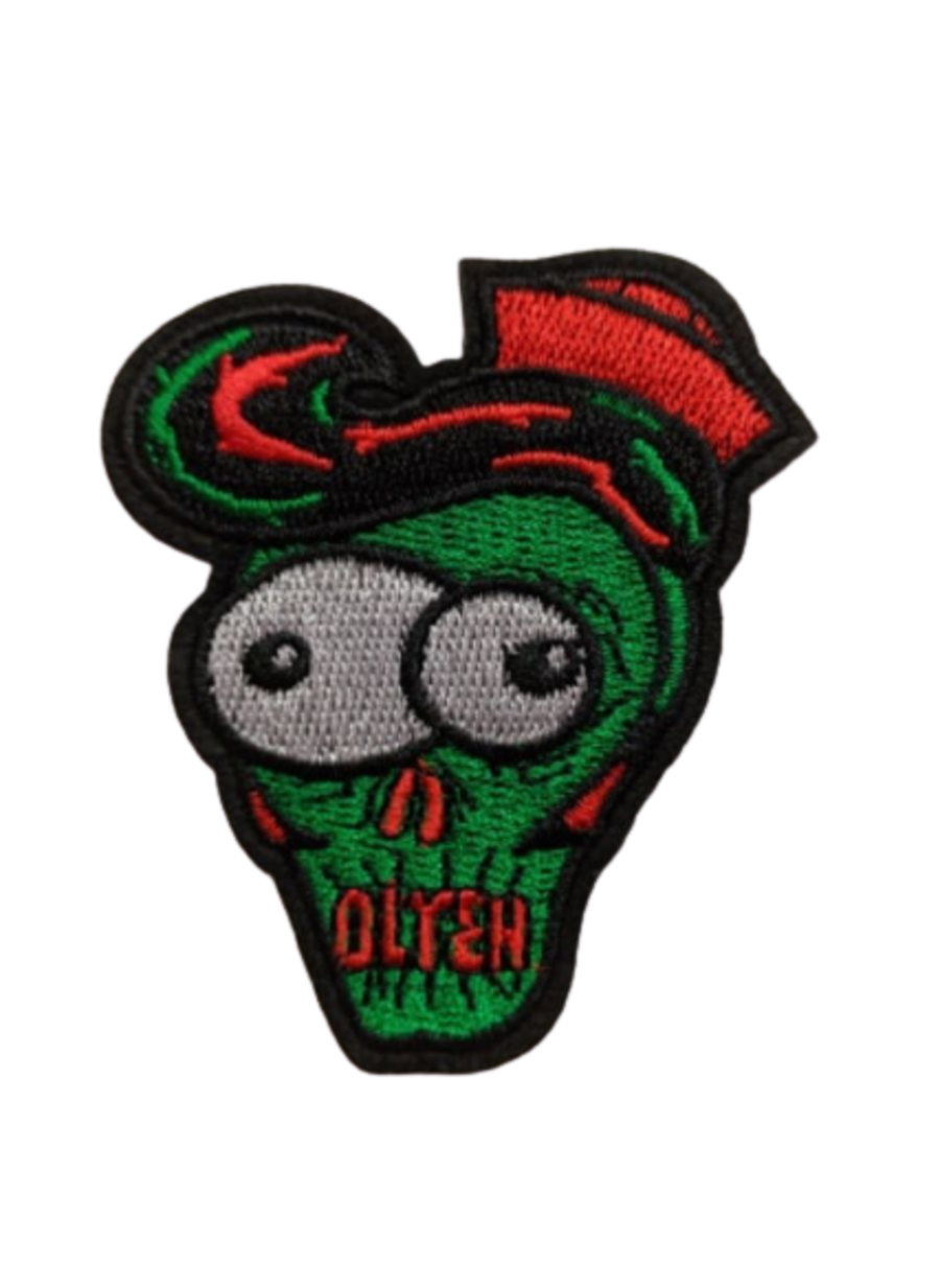 OLYER Zombie Iron On Patch