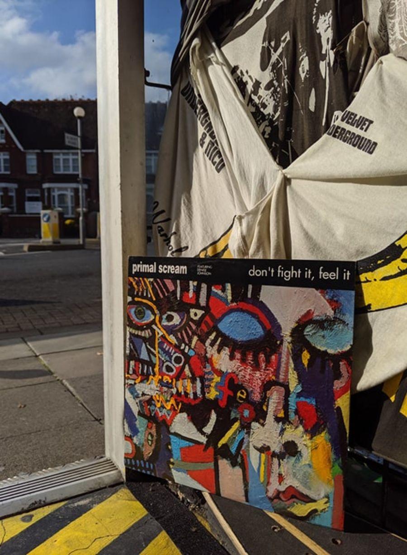 Primal Scream Featuring Denise Johnson, Don't Fight It, Feel It Vinyl
